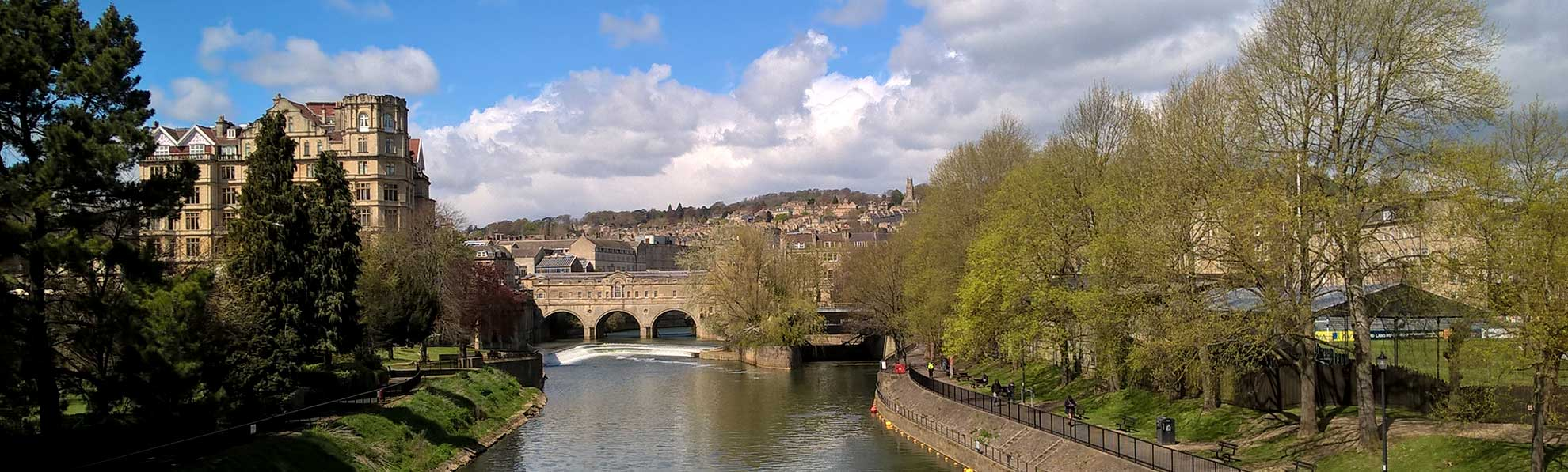 Bath city, location of Mantra Restaurant Bath
